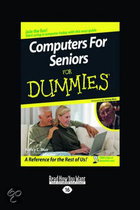 Computers For Seniors For Dummies(R)