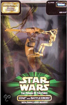Star Wars Speelgoed: STAP & Battle Droid with laser missiles