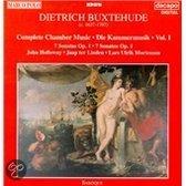 Buxtehude: Complete Chamber Music Vol 1 / Holloway, et al