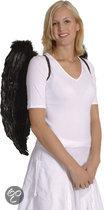 Engelenvleugels Zwart (65 x 65 cm)