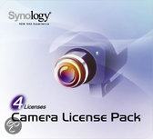 Synology Camera License Pack 4x Hard disk external