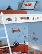 Roommates Muursticker Brandweer - Multi