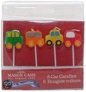 Mason Cash Kaarsjes - Auto - 4 stuks