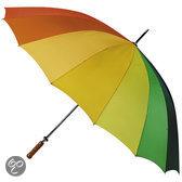 Adventure Bags Golf Paraplu Ø 130 cm Regenboog