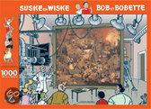 Puzzel Suske en Wiske Dulle Griet 1000 stukjes