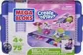 Mega Bloks - Build 'n Go Pad - Roze - Constructiespeelgoed