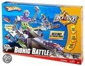 Hot Wheels Trick Tracks Bionic Battle - Racebaan