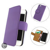 TCC Book iPhone 6 hoesje Flip/Wallet Case/Cover Paars