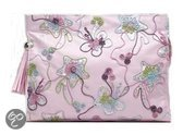 Gillian Jones Embroidery Purse - Toilettas - Roze