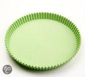 Point-Virgule Baking met Roger Van Damme  - Taartvorm geribd - Ø 185mm - Groen