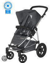 Koelstra Binque Daily - Kinderwagen inclusief Boodschappenmand - Grijs