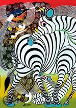 Zebra  - Legpuzzel - 1000 Stukjes