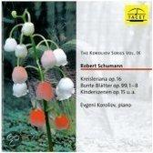 Schumann: Kreisleriana, Bunte Blatt