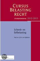 2012-2013 studenteneditie cursus belastingrecht schenk- en erfbelasting