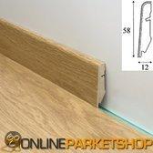 Quickstep Standaard plint Laminaat 58x12 mm