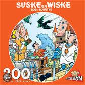 Puzzel Suske en Wiske vleermuis 200 stukjes