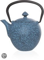 Cosy&Trendy Pear Theepot - 0.33 l - Gietijzer - Blauw