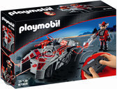 Playmobil Darksters Stealer Met Infrarode Besturing En Lichtgevend Pistool  - 5156