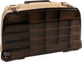 Predox Dlx Tackle Box - 47 x 22 x 29 cm - Bruin Transparant