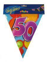 Vlaggenlijn leeftijd 50 jaar