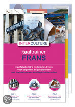 Interculture taaltrainer Frans set 7 cd's (luisterboek)