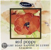 Kappus Red Poppy Zeep Luxe