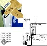 Secu beveiligingsstrip voor beveiliging van deuren en ramen lengte 2115 mm