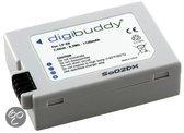 Digibuddy accu Canon LP-E8 (o.a. voor de Canon EOS 550D / 600D / 650D / 700D)