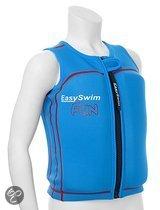 EasySwim Fun - Zwemvest kind - Drijfvest voor kinderen - Blauw - Maat M 17-24 kg