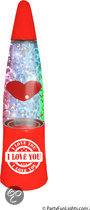 Lamp Glitter LED Heart 12V PL