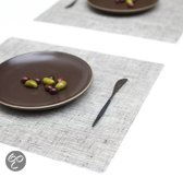 Modern Twist Linnen Placemat - 40 x 35 cm - Chocolate