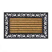 Kokosmat met print / Impala Brush Rectangle / 45 cm x 75 cm /