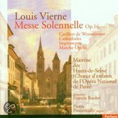 Vierne: Messe Solennelle, etc