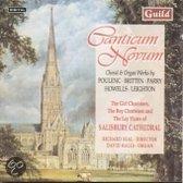 Canticum Novum - Poulenc, Britten, et al / Seal, et al