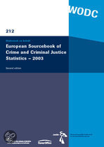 European Sourcebook Of Crime And Criminal Justice Statistics - 2003: Second Edition