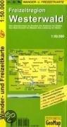 Freizeitregion Westerwald 1 : 50 000. Rad- und Freizeitkarte