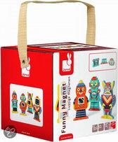 Janod Funny Robot - Magneten