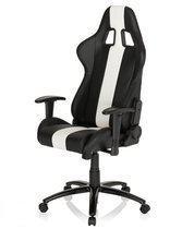 hjh office Imola - Bureaustoel - Racing - Zwart / wit