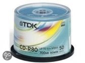 TDK CD-R 80MIN 700MB 52X
