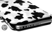 MacBook Hoes 11 inch Lazy Cow (wit/ zwart)