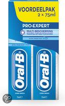 Oral-B Pro-Expert Multi Bescherming - 2 x 75 ml - Tandpasta