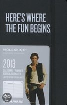 Moleskine Star Wars 2013 12 Month Daily Planner Black Pocket