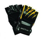 Bruce Lee Signature Free Fight / MMA Handschoenen - PU - M