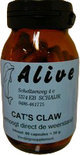 Alive Cat's Claw - 80 Tabletten