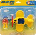 Playmobil 123 Propellervliegtuig - 6717