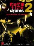 Real Time Drums Level 2 (Basic Method for Drumset) (Boek met Cd)
