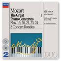 Mozart: The Great Piano Concertos Vol 1 / Brendel, Marriner