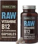Garden of Life Raw vitamine B12 - 60 Capsules - Vitaminen