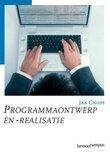 Programmaontwerp en -realistie