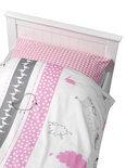 Coming Kids Bedtime - Overtrek & Sloop 70x150 cm - Roze